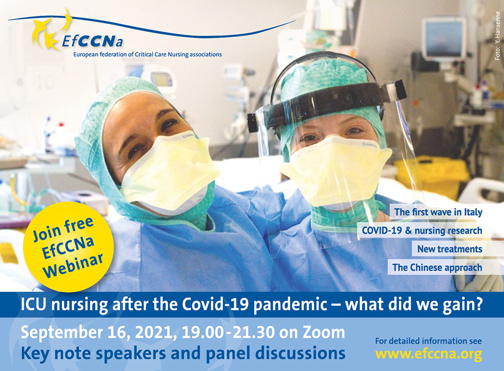 First Announcement: EfCCNa Webinar on COVID-19